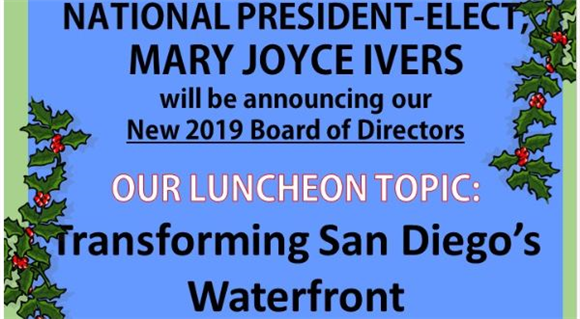 APWA National President Elect Mary Joyce Ivers will Attend